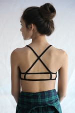 cross hairs bralette