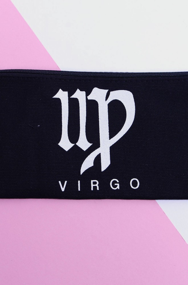 virgo star sign pouch small