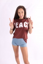 dylan teach peace tee