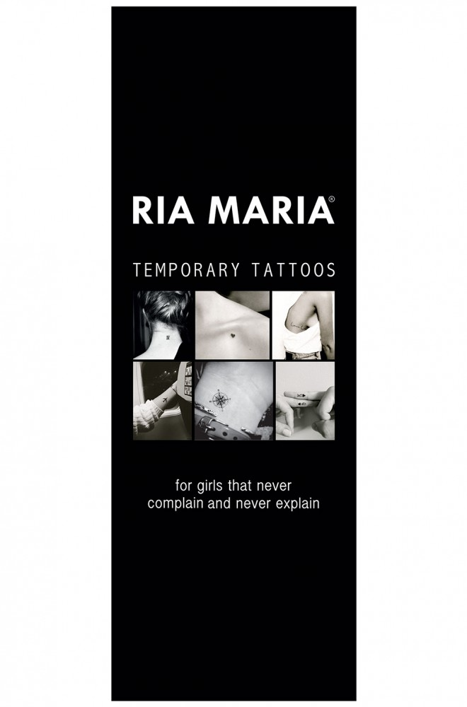 temporary tattoos black